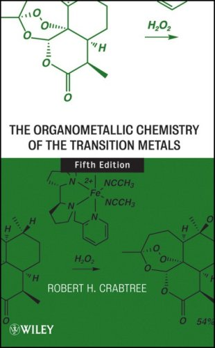 Organometallic Chemistry of the Transition Metals  5th 2009 edition cover
