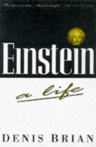 Einstein A Life 1st 1996 9780471193623 Front Cover