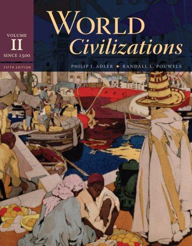World Civilizations Since 1500 5th 2008 edition cover