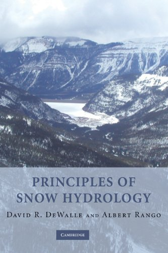 Principles of Snow Hydrology   2008 9780521823623 Front Cover