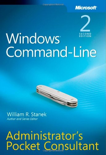 Windows Command-Line Administrator's Pocket Consultant  2nd 2008 edition cover