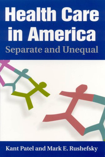 Health Care in America Separate and Unequal  2009 9780765616623 Front Cover