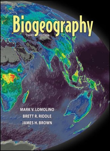 Biogeography  3rd 2005 edition cover