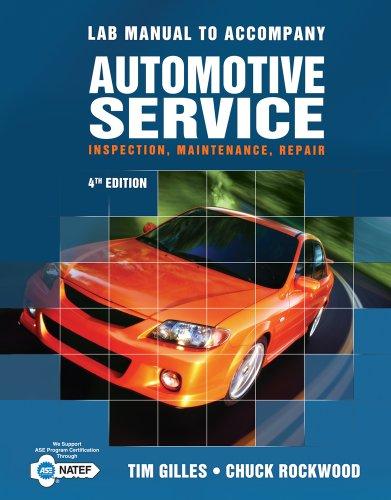 Automotive Service Inspection, Maintenance, Repair 4th 2012 edition cover