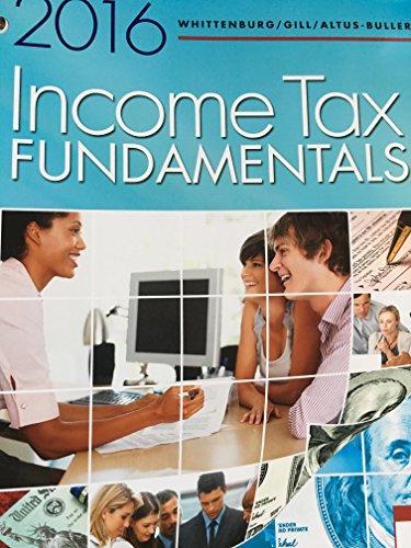 Llf Income Tax Fundamentals 2016  34th 2016 edition cover