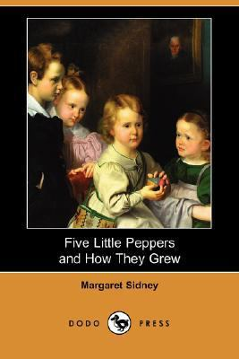Five Little Peppers and How They Grew  N/A 9781406561623 Front Cover