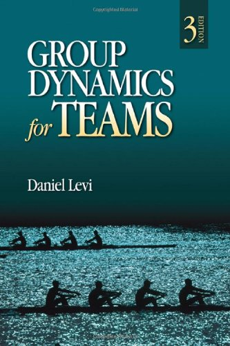 Group Dynamics for Teams  3rd 2011 edition cover