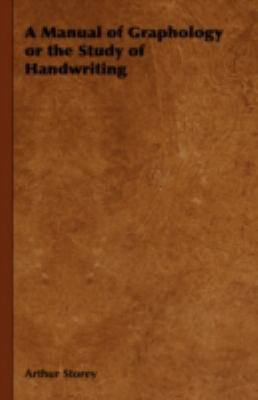 Manual of Graphology or the Study of Handwriting  2008 edition cover