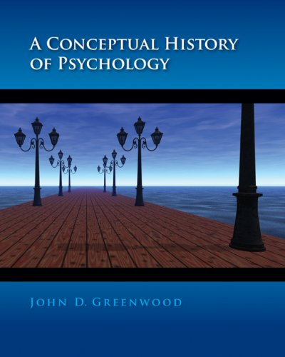 Conceptual History of Psychology   2009 edition cover
