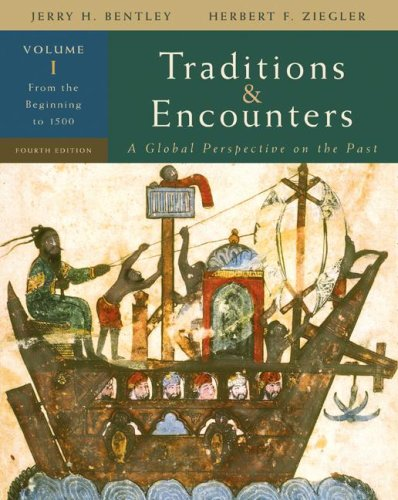 Traditions and Encounters From the Beginning to 1500 4th 2008 edition cover