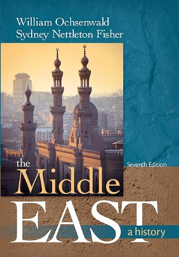 Middle East A History 7th 2011 edition cover