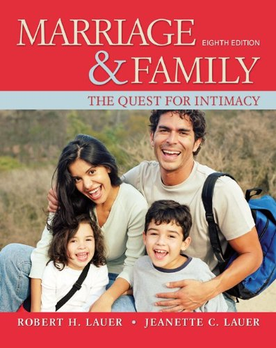 Marriage and Family The Quest for Intimacy 8th 2012 9780078111624 Front Cover