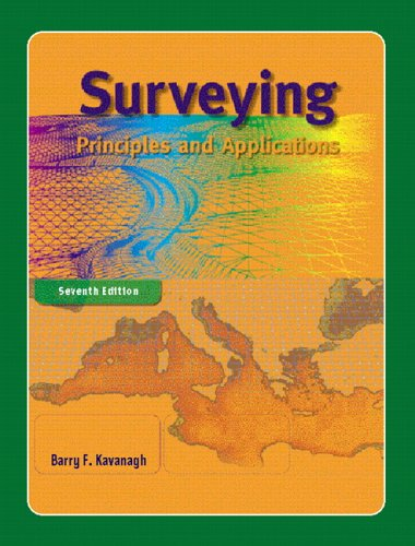 Surveying Principles and Applications 7th 2006 (Revised) edition cover