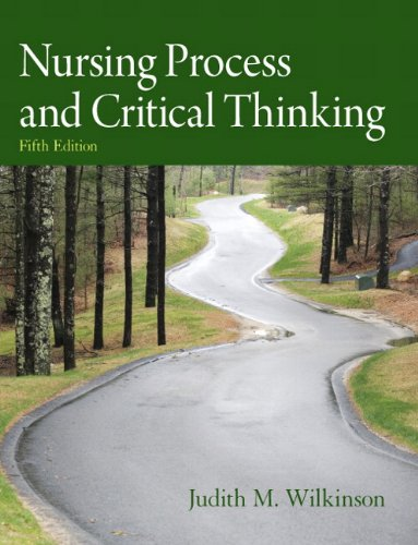 Nursing Process and Critical Thinking  5th 2012 edition cover