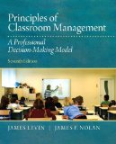 Principles of Classroom Management A Professional Decision-Making Model 7th 2014 edition cover