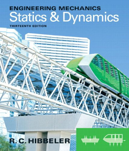 Engineering Mechanics Statics and Dynamics 13th 2013 edition cover
