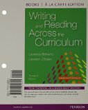 Writing and Reading Across the Curriculum, Books a la Carte Edition  13th 2016 edition cover