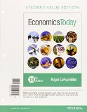 Economics Today, Student Value Edition Plus MyEconLab with Pearson EText -- Access Card Package  18th 2016 edition cover