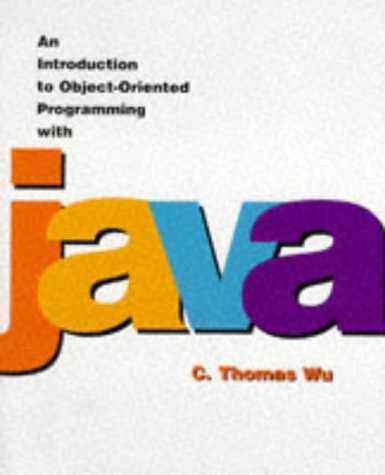 Introduction to Object-Oriented Programming with Java   1997 9780256254624 Front Cover