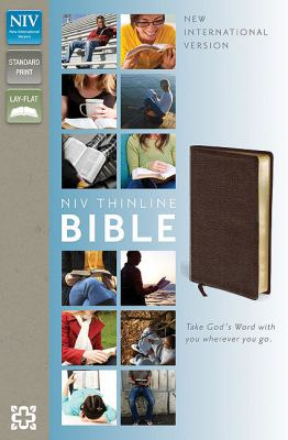 NIV Thinline Bible  Special 9780310435624 Front Cover