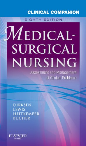 Clinical Companion to Medical-Surgical Nursing Assessment and Management of Clinical Problems 8th 2011 edition cover