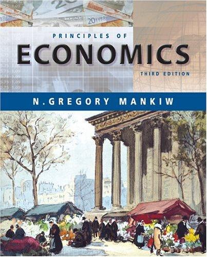 Principles of Economics  3rd 2004 edition cover