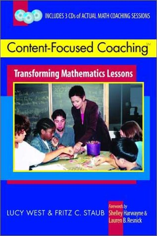 Content-Focused Coaching SM Transforming Mathematics Lessons  2003 edition cover