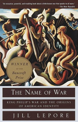 Name of War King Philip's War and the Origins of American Identity N/A 9780375702624 Front Cover