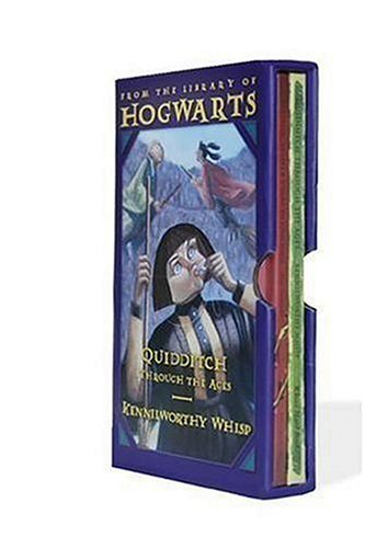 Classic Books from the Library of Hogwarts School of Witchcraft and Wizardry Quidditch Through the Ages; Fantastic Beasts and Where to Find Them Gift  edition cover