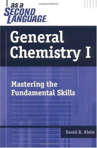 General Chemistry I Mastering the Fundamental Skills  2005 edition cover