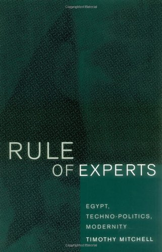 Rule of Experts Egypt, Techno-Politics, Modernity  2002 edition cover