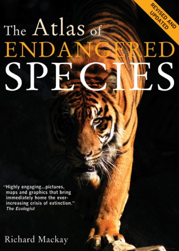 Atlas of Endangered Species  Revised edition cover