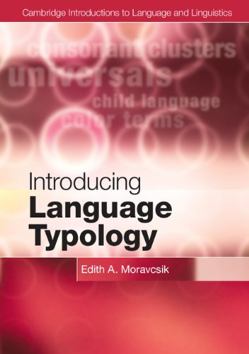 Introducing Language Typology   2012 edition cover