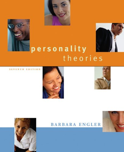 Personality Theories An Introduction 7th 2006 edition cover