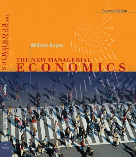 Managerial Economics Markets and the Firm 2nd 2012 edition cover