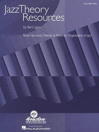Jazz Theory Resources - Tonal, Harmonic, Melodic and Rhythmic Organization of Jazz   2001 edition cover