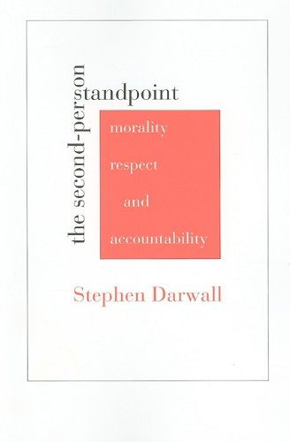 Second-Person Standpoint Morality, Respect, and Accountability  2006 edition cover