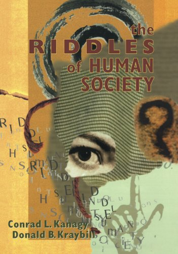 Riddles of Human Society   1999 9780761985624 Front Cover
