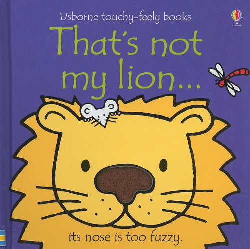 That's Not My Lion:  2010 edition cover
