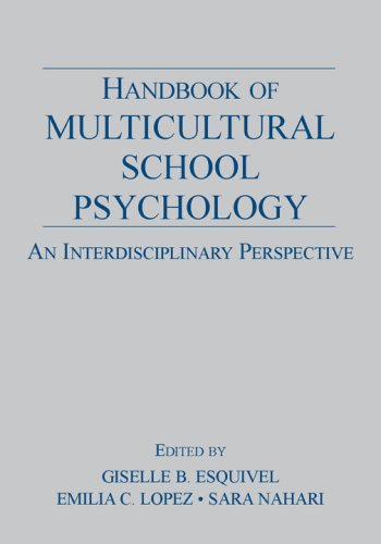 Handbook of Multicultural School Psychology An Interdisciplinary Perspective  2007 edition cover