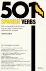 501 Spanish Verbs : Conjugation Guide 3rd edition cover