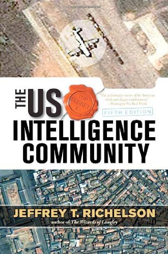 US Intelligence Community  5th 2008 edition cover