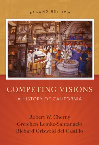 Competing Visions A History of California 2nd 2014 edition cover