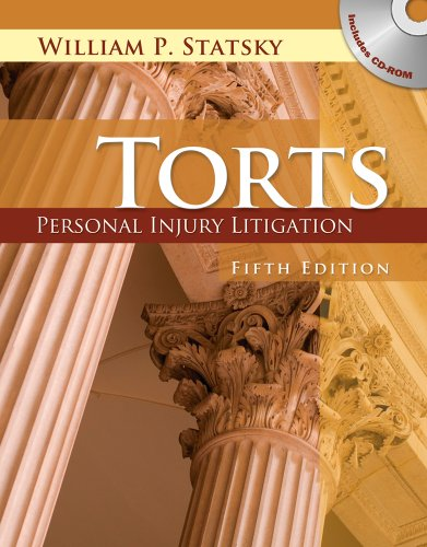 Torts Personal Injury Litigation 5th 2011 edition cover
