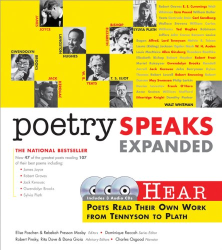 Poetry Speaks Expanded Hear Poets Read Their Own Work from Tennyson to Plath 2nd (Expanded) edition cover