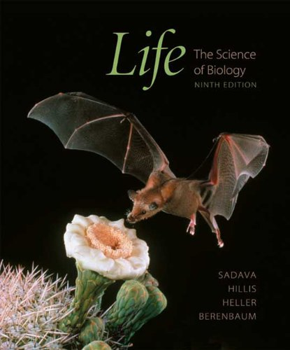 Life The Science of Biology 9th 2011 edition cover