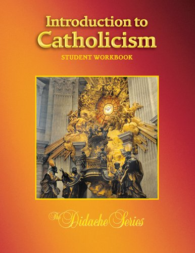 INTRODUCTION TO CATHOLICISM-WORKBOOK N/A edition cover