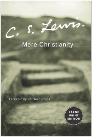 Mere Christianity   2003 (Large Type) 9780060575625 Front Cover