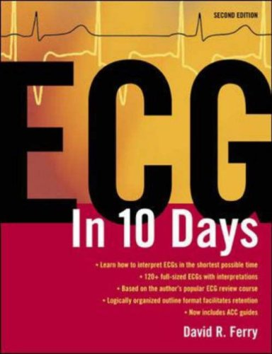 ECG in 10 Days  2nd 2007 (Revised) edition cover