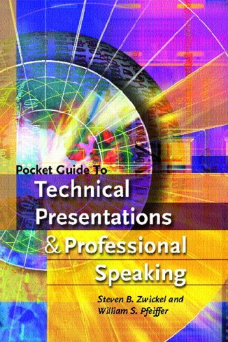 Pocket Guide to Technical Presentations and Professional Speaking   2006 9780131529625 Front Cover